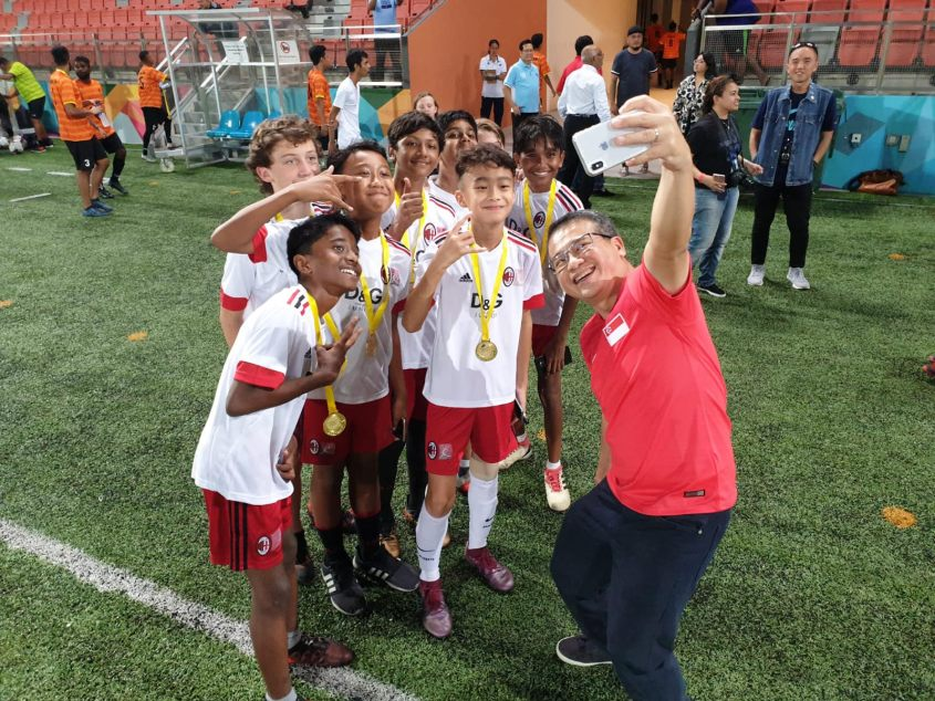 Famous 'Lions' roar to raise funds for Chiam See Tong Sports Fund