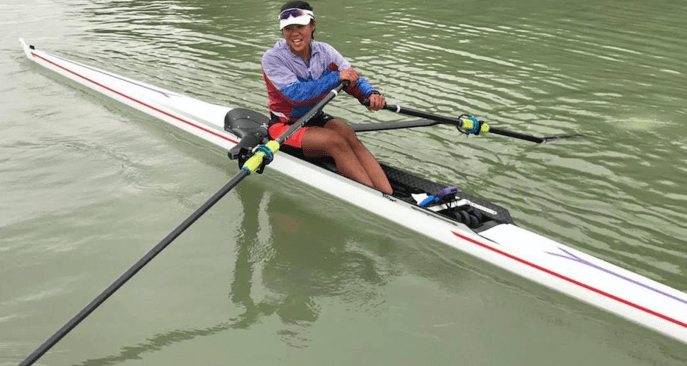 National Rower Joan Poh gets support by the Chiam See Tong Sports Fund